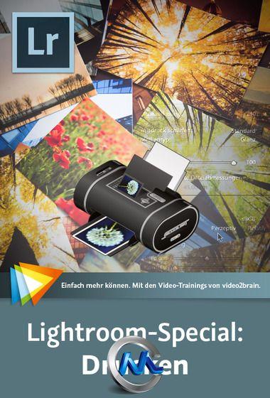 《Lightroom摄影印刷视频教程》video2brain Lightroom Special Print German