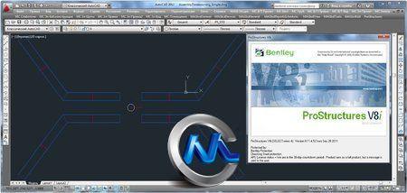 《奔特力三维结构建模软件V8i》Bentley ProStructures V8i
