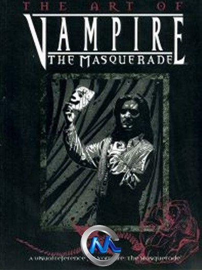 《吸血鬼化装舞会游戏艺术原画设计书籍》Art of Vampire The Masquerade