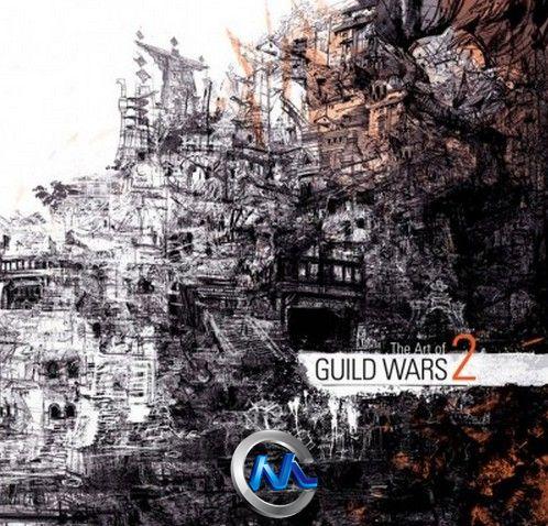 《激战2游戏艺术原画设计书籍》The Art of Guild Wars 2