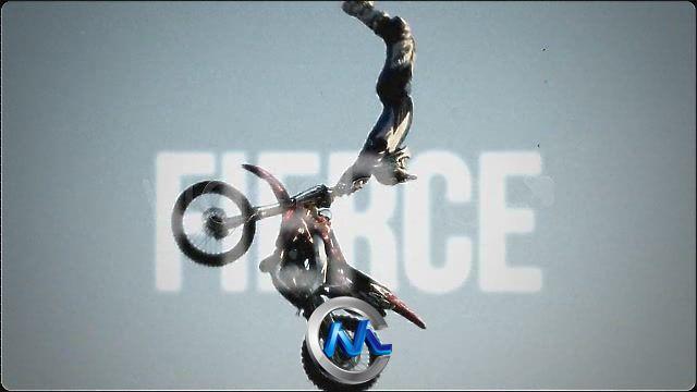 《超酷体育展示AE模板与调色预设》VideoHive Maniac Slideshow 334802