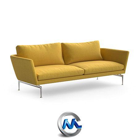 《沙发与座椅3D模型合辑》model+model Vol.07 Sofas+Armchairs