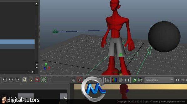 《Maya与MentalRay表面着色器视频教程》Digital-Tutors Creative Development Subsurface Scattering Shaders in Maya and mental ray
