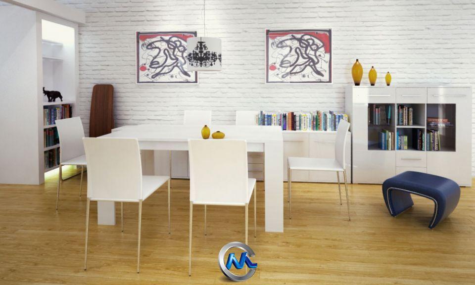 《餐厅家具3D模型合辑》Evermotion Archmodels Vol.112