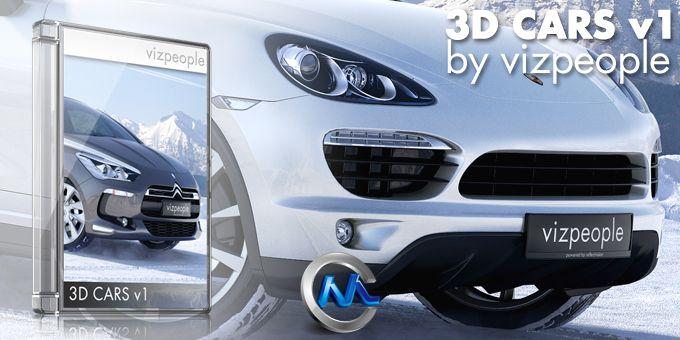 《Viz-People出品高档汽车3D模型Vol.1》Viz-People 3D CARS v1