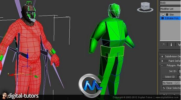 《CryENGINE自定义角色制作视频教程》Digital-Tutors Custom Characters in CryENGINE