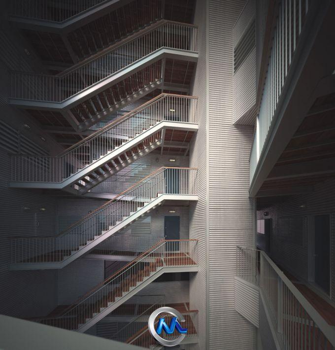 《室外建筑渲染效果3D模型合辑》Evermotion Archexteriors Vol.16