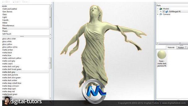 《ZBrush布料制作工作流程视频教程》Digital-Tutors Creative Development Cloth Sculpting Workflows in ZBrush