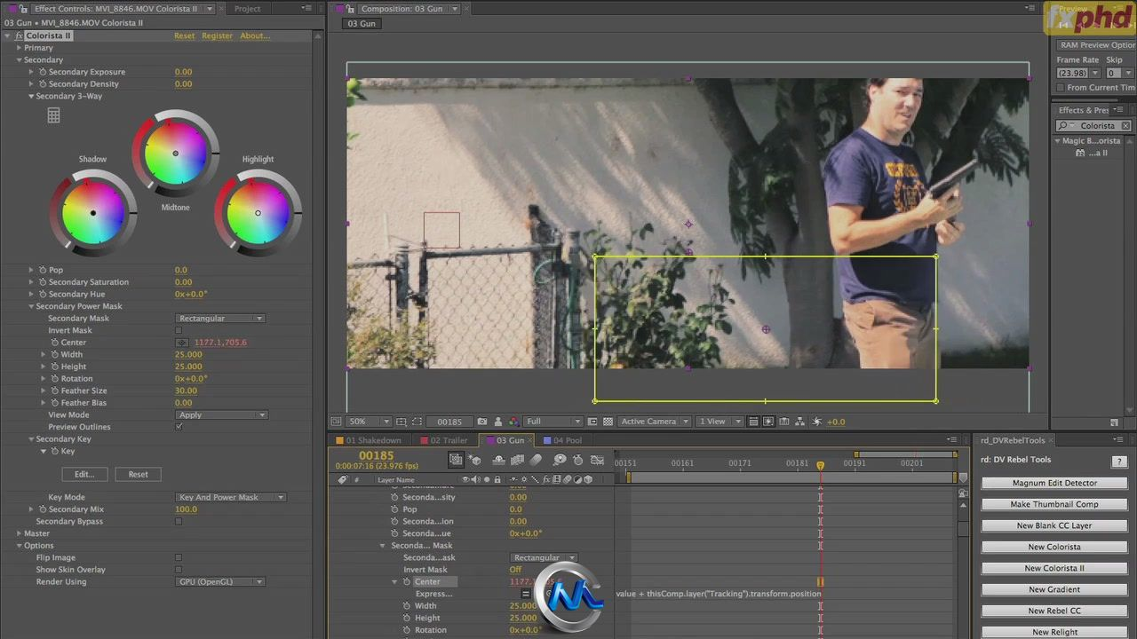 《影视色彩光线调色工艺视频教程》FXPHD GRD201 The Craft of Color Grading