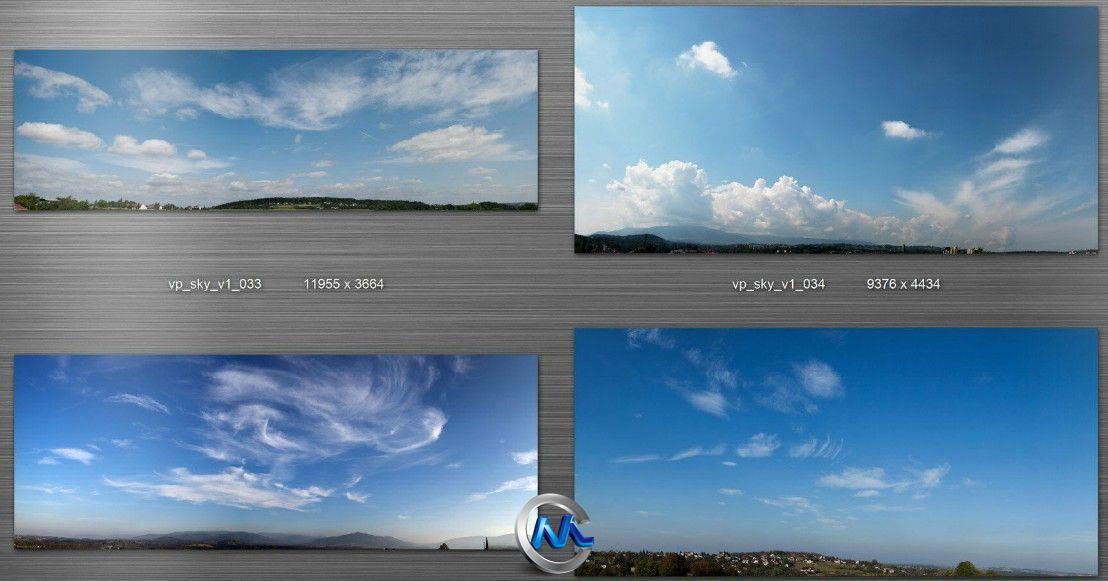 《全景天空图片合辑》Viz-People Sky v1