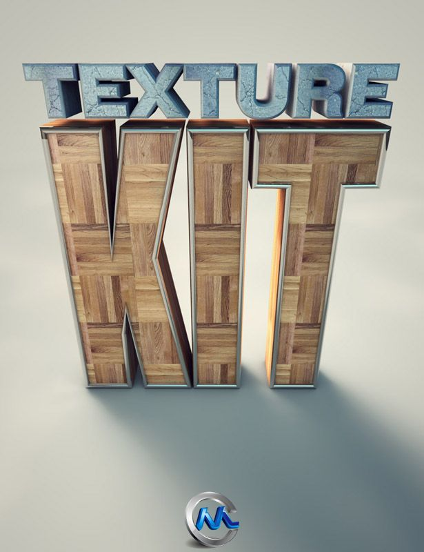 《C4D贴图预设合辑Vol.2》GreyscaleGorilla Texture Kit Pro 2 For Cinema 4D