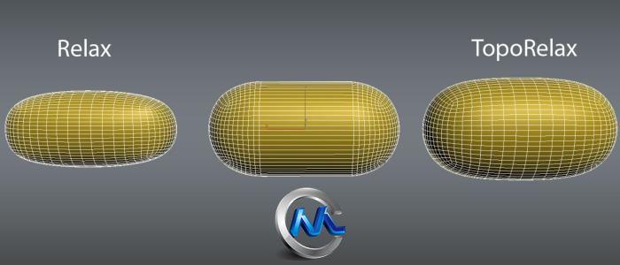 《滤网变形拓扑造型插件V1.0版》TopoRelax 1.0 For 3Ds Max