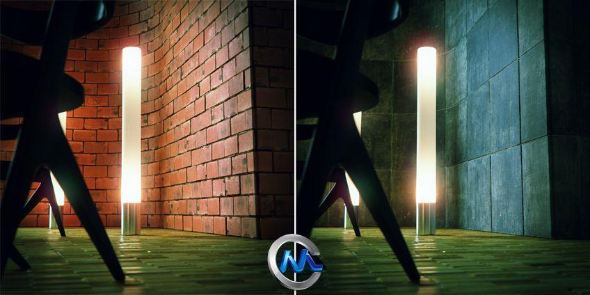 《墙壁地板材料材质纹理贴图合辑》Materialwerk BRIX v1.0.1 For 3Ds Max 2009–2011 x32/x64