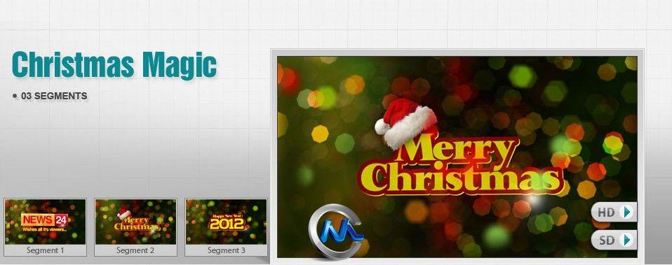 《DJ最强AE模板合辑Vol.3-圣诞特辑》DigitalJuice Toxic Type Collection 3 Christmas