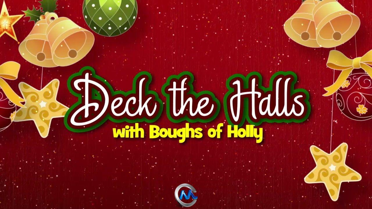 《DJ圣诞背景动画视频素材合辑Vol.2》DigitalJuice Animated Christmas Canvases 2