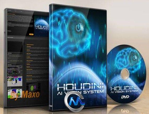 《Houdini中AI视觉系统使用视频教程》cmiVFX Houdini AI Vision System