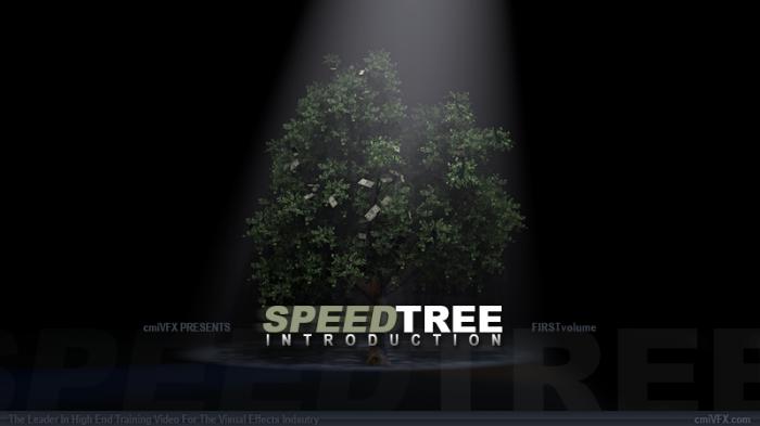 《SpeedTree树木制作入门视频教程》cmiVFX SpeedTree Introduction
