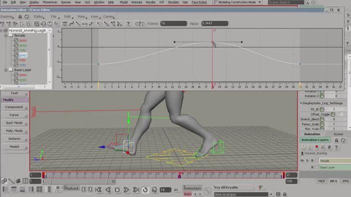 《Softimage动画混合技术视频教程》cmiVFX Softimage Animation Mixer