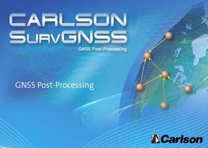 《卡尔森全球卫星导航系统2.88》Carlson SurvGNSS 2.88