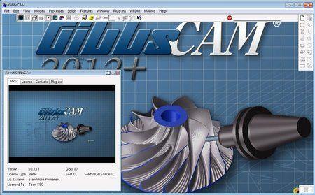 《机床编制程序2012》GibbsCAM 2012+ Build 10.3.13.0