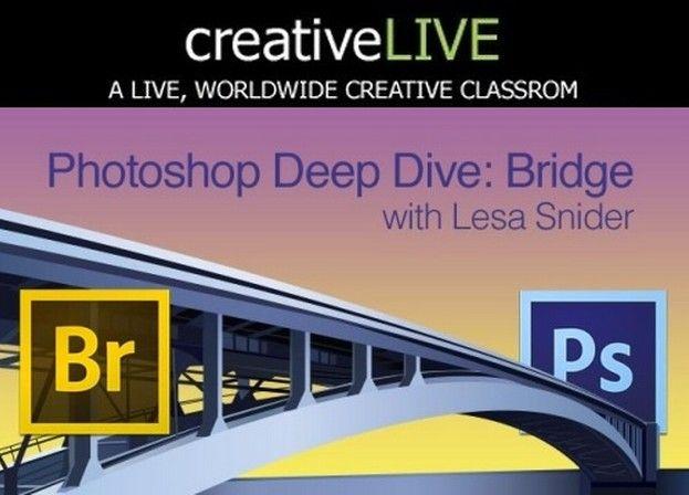 《Photoshop桥接技术视频教程》CreativeLive Photoshop Deep Dive Bridge with Lesa Snider
