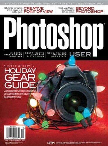 《Photoshop用户杂志2012年12月刊》Photoshop User December 2012