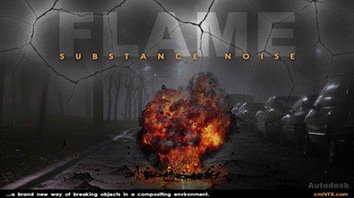 《Flame火焰爆破特效制作视频教程》cmiVFX Substance Noise Combinations