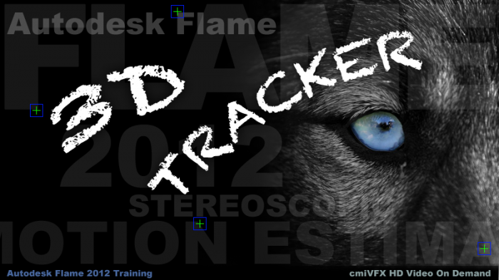 《Flame三维跟踪技术视频教程》cmiVFX Autodesk Flame 3D Tracking
