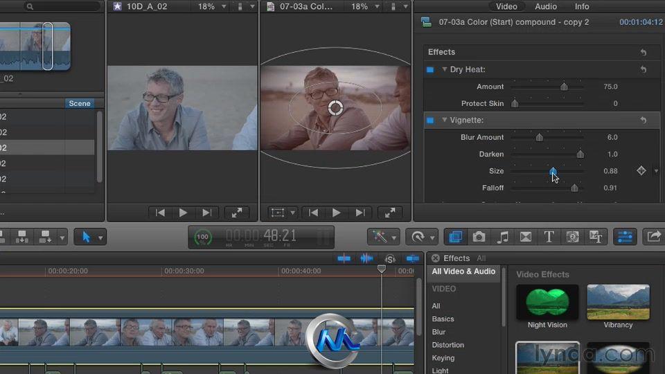 《FinalCutProX叙事技巧剪辑视频教程教程》morphvox节奏使用图片