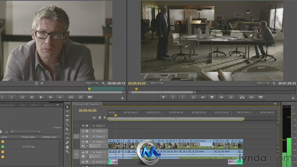 《Premiere叙事节奏剪辑教程技巧视频》Lynd炮视频剪发头教程图片