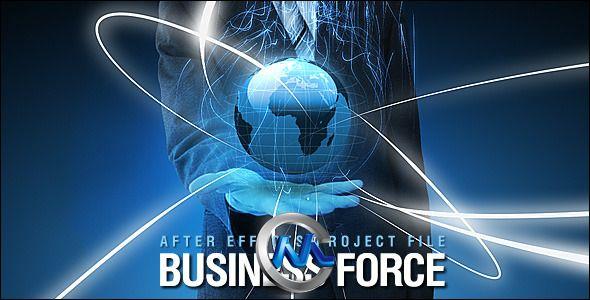 《商务力量AE模板》Videohive Business Force 2279322