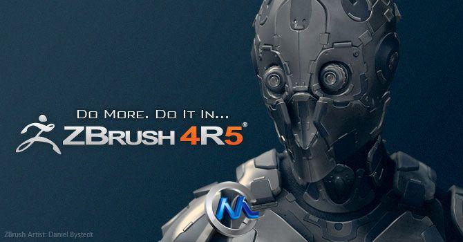 《ZBrush 4R5完美破解版》Pixologic ZBrush 4R5 Win Mac