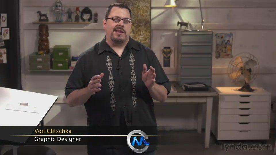 《矢量图形绘制视频教程》Lynda.com Drawing Vector Graphics