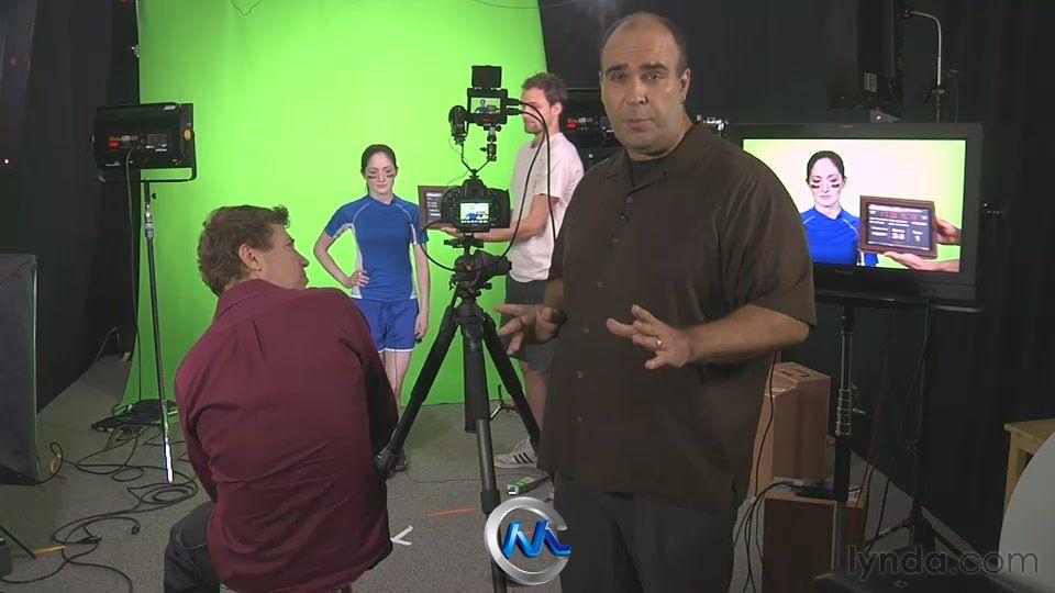 《影视与摄影绿屏抠像技术视频教程》Lynda.com Green Screen Techniques for Video and Photography
