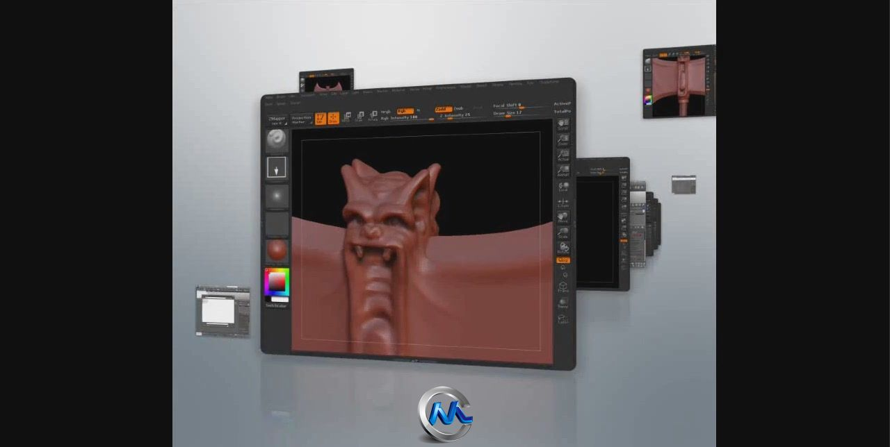 3dsMax与ZBrush游戏武器道具v音乐音乐图片D视频教程视频图片