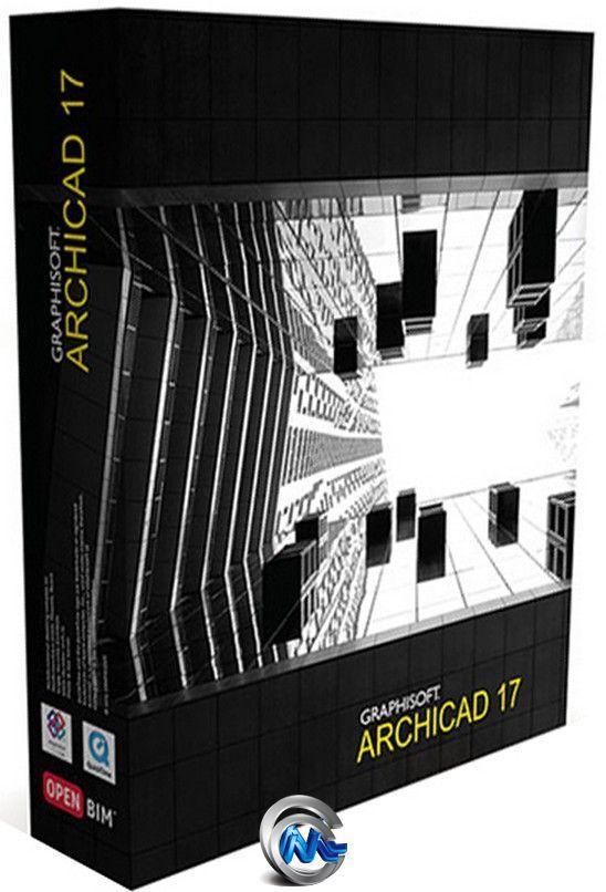三维建筑设计软件V17.4008版 ArchiCAD 17.0 Build 4005 4008 Hotfix 3 Win64