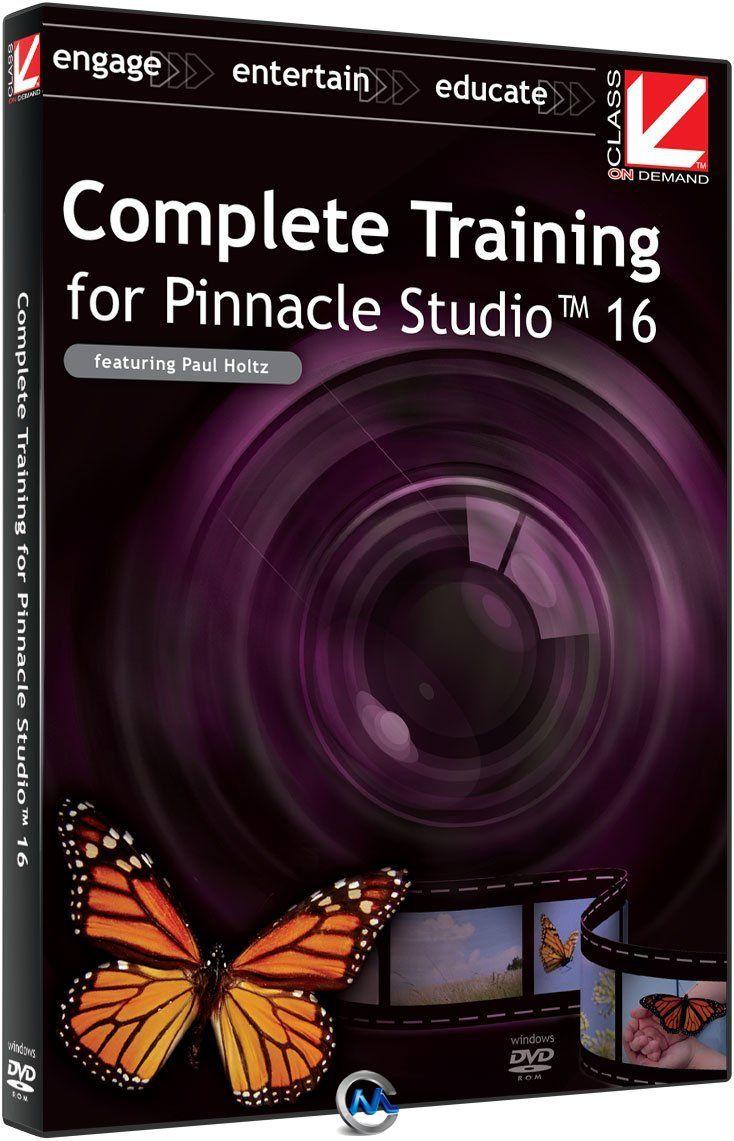 Pinnacle Studio16全面核心训练视频教程 Class On Demand Complete Training for Pinnacle Studio 16