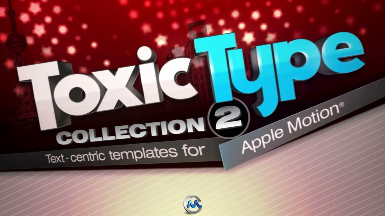 DJ最强AppleMotion字幕模板合辑Vol.2 Digital Juice Toxic Type Collection 2 for Apple Motion