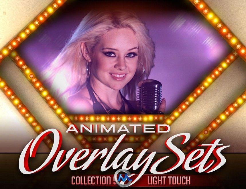 DJ专业宣传包装背景视频素材合辑第五季