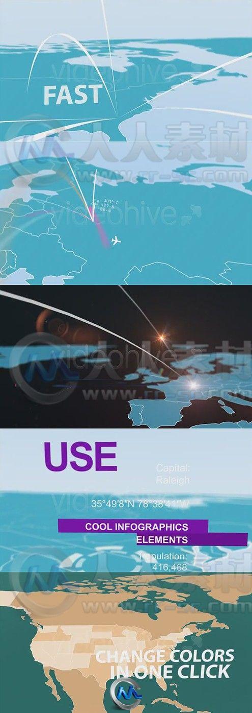 地图 模板/三维地图信息图表动画AE模板下载.jpg
