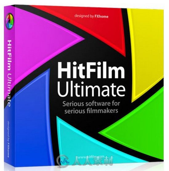 HitFilm电影编辑软件解决方案软件V2.0.2905版 HitFilm Ultimate 2.0.2905.38887 Win64