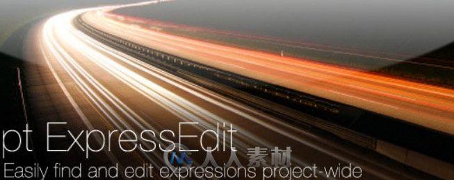 AE表达式编辑脚本插件V2.1版 Aescripts pt ExpressEdit 2.1