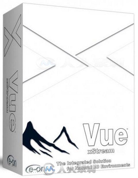 Vue XStream三维景观生成软件V2014.6版 Vue 2014.6 XStream Build 12501004 Win64