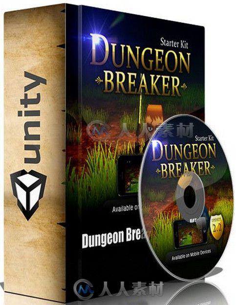 Unity游戏扩展资料 Unity Dungeon Breaker Starter Kit 2.2