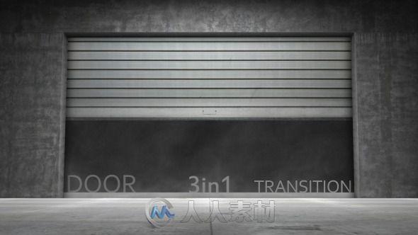 芝麻开门转场视频素材 Videohive Door Transition 4476877 Motion Graphics