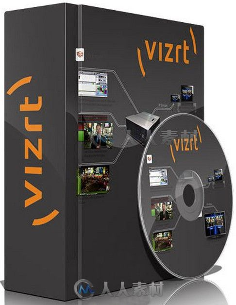 Viz Artist Viz Engine即时虚拟引擎软件V3.7.0版 Viz Artist Viz Engine 3.7.0 Win64