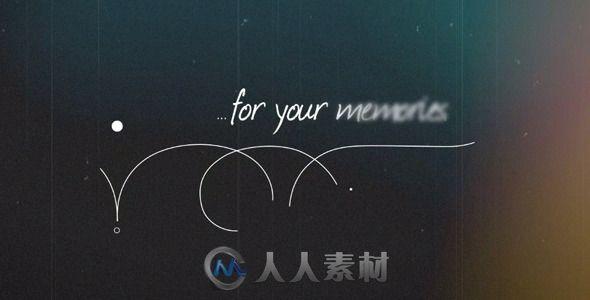 炫光回忆相册动画AE模板 Videohive Vintage Memories 8258504 Project for After Effects