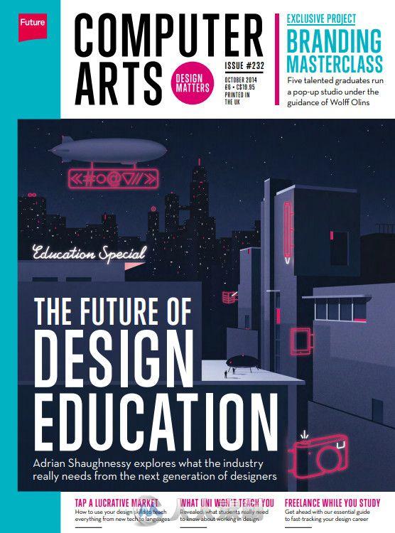 计算机数字艺术杂志2014年10月刊 Computer Arts October 2014