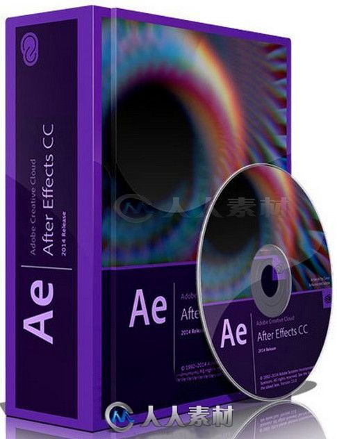 After Effects CC影视后期特效合成软件V2014 13.1.0版 Adobe After Effects CC 2014 13.1.0 Multilingual Win Mac
