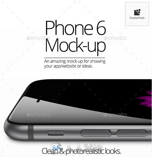 Phone 6苹果手机PS模板 Graphicriver Phone 6 Mock Up 8998141